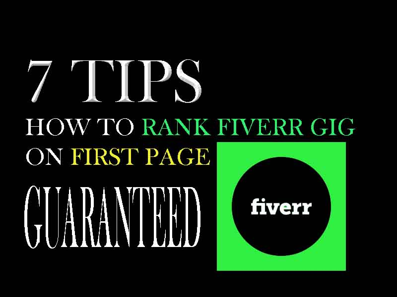 how to rank fiverr gig on first page