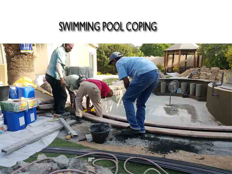 pool edging coping