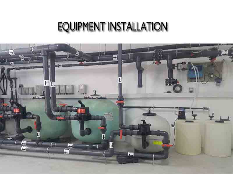 pool equipment installation details