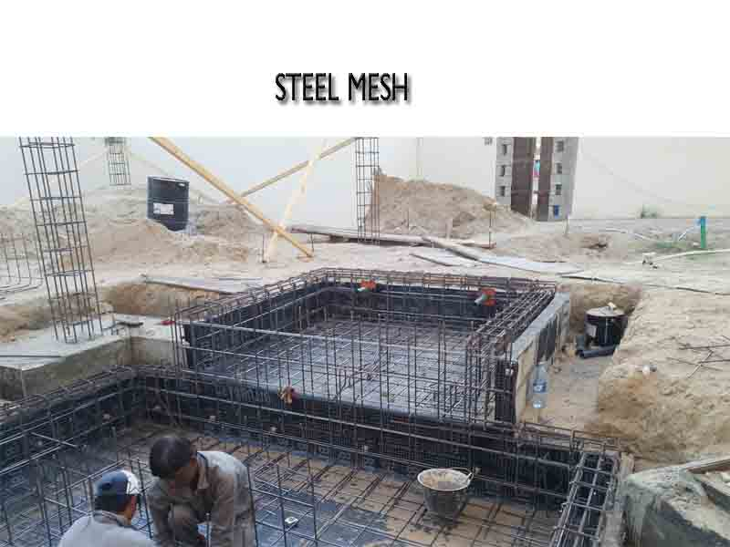 steel mesh for pool