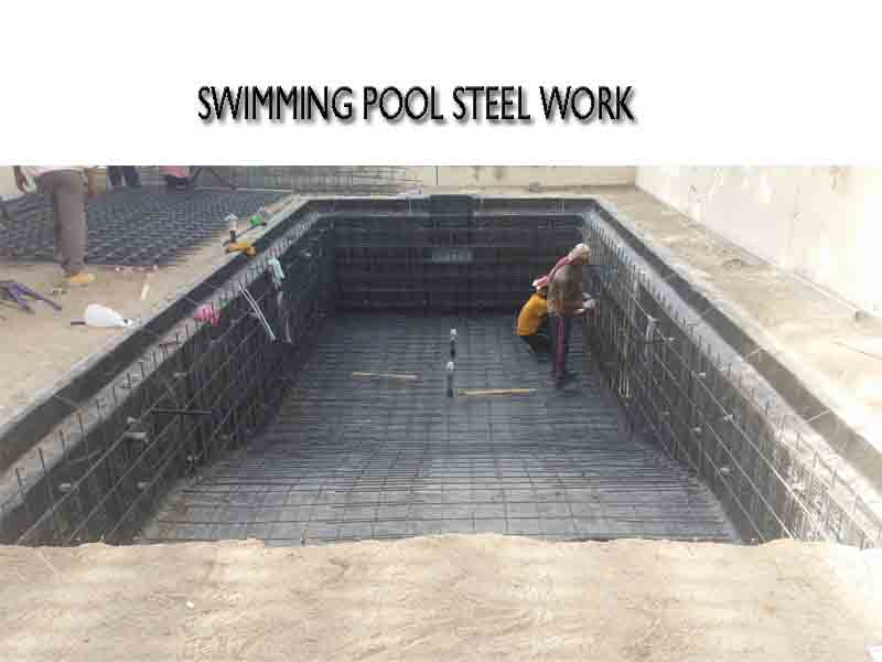 swimming pool steel works