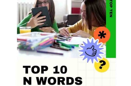 TOP 10 N WORDS